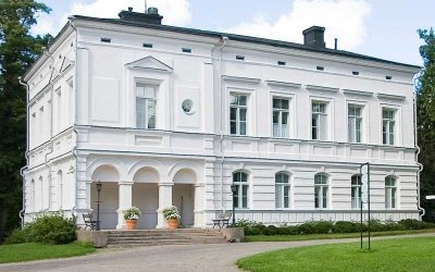 The charming annexe to the Svartå Manor is called Edelfelt.